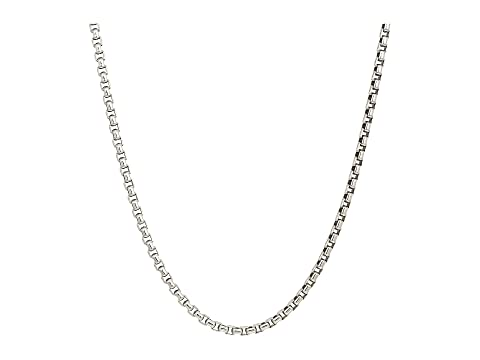 John Hardy 3.7mm Box Chain Necklace Size 24