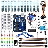 KeeYees Basic Starter Kit con Tutorial para Principiantes de Arduino, 33 Tipo Componentes Electrónicos Compatible con Arduino IDE