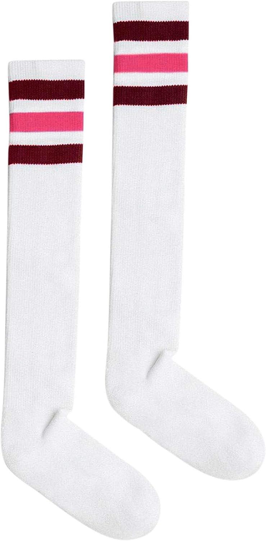 American Apparel Unisex Stripe Knee-High Sock
