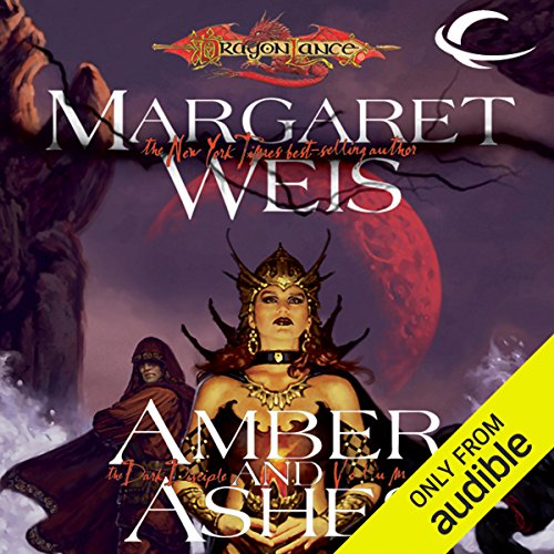 Amber and Ashes audiobook cover art