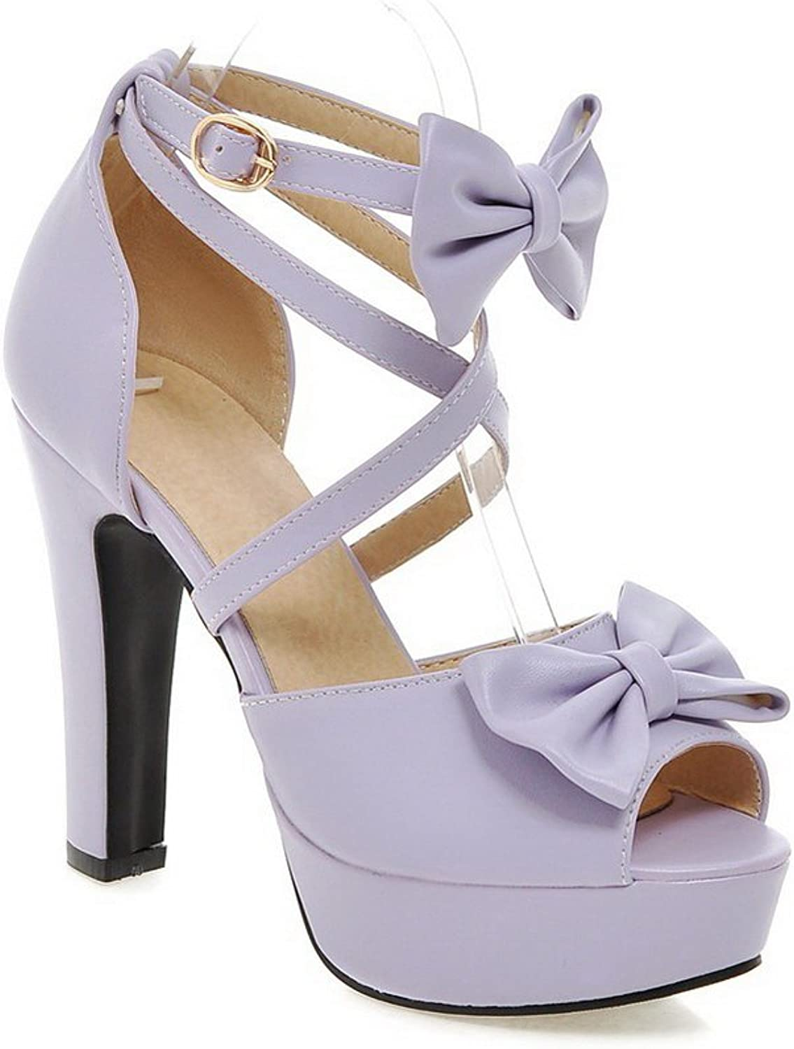 1TO9 Womens Cold Lining Peep-Toe Non-Marking Urethane Sandals MJS03167