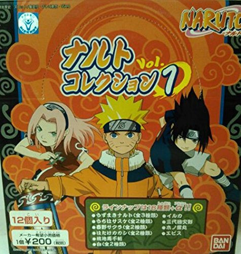 NARUTO collection 1st phase BOX