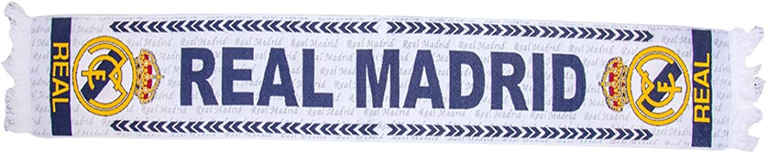 STARSPORT /Écharpe Real Madrid en Maille Jacquard