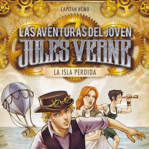 Diseño de la portada del título La isla perdida