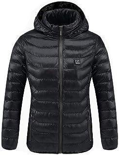 冬のダウンジャケットユース暖かいジャケットUSB充電式綿スマートヒートダウンジャケット