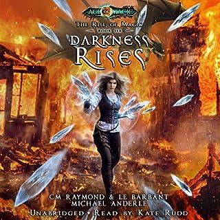 Darkness Rises audiobook cover art