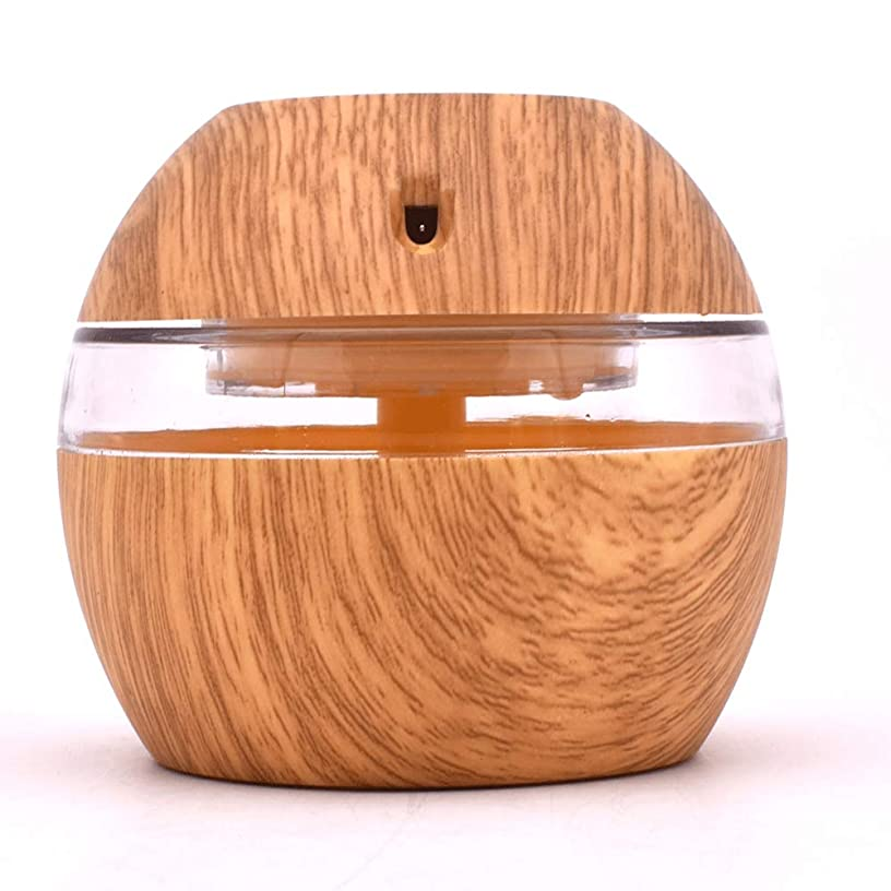 平衡覆すバブル300ML Aroma Diffuser Essential Oil Diffuser With 7 Color LED Lights Waterless Auto Off