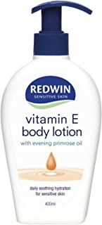 Redwin Vitamin E Body Lotion with Evening Primrose Oil, 400 milliliters