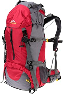 comprar comparacion Lixada Mochila de Senderismo 50L con Cubierta Impermeable Mochila de Marcha Trekking Camping Deporte al Aire Libre