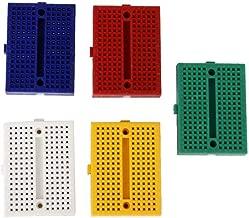 AERZETIX Placa Hojas de Cobre para Circuito Impreso 160//100//0.6mm 18/µm Resina epoxi de Fibra de Vidrio C40731