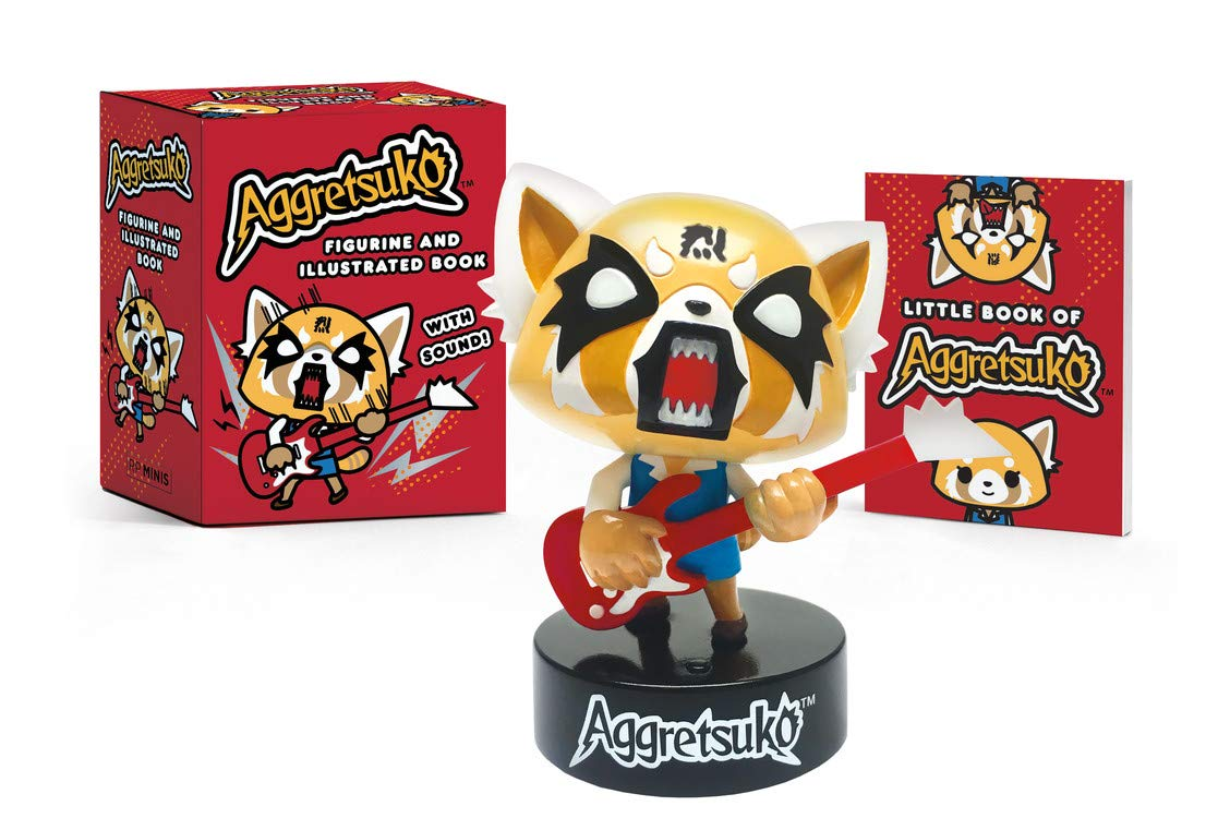 Download Aggretsuko Figurine And Illustrated Book: With Sound! 