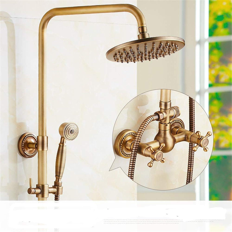 Hlluya Professional Sink Mixer Tap Kitchen Faucet All copper antique faucets antique elevator shower large shower hot cold water faucet handheld sprinkler kit