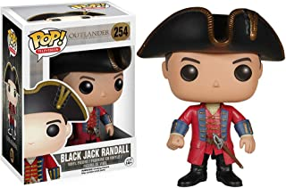Funko Black Jack Randall: Outlander x POP! TV Vinyl Figure & 1 POP! Compatible PET Plastic Graphical Protector Bundle [#254 / 05576 - B]