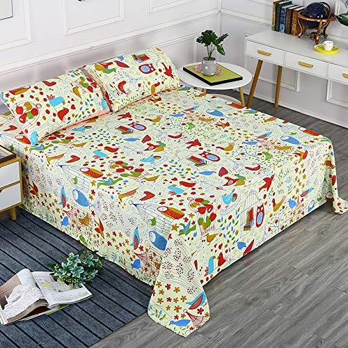 Hllhpc Katoen oude grove doek lakens, eenpersoonsbed, benodigdheden