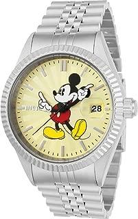 Invicta Disney 22769 - Reloj de cuarzo para hombre (correa de acero inoxidable), color plateado