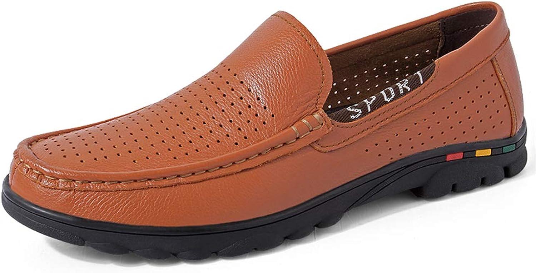 Manliga skor Casual Flat Loafers    Springaa  Fall  Comfort Loafers och Slip -Ons Lazy skor Drive skor svart  bspringaaa, B,40  bara för dig
