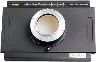Nikon DSLR Digital Back Adapter for 4x5 Large Format Camera D4 D7000 DF D7200