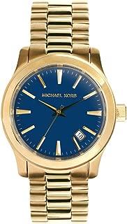 Men's MK7049 Runway Gold Watch