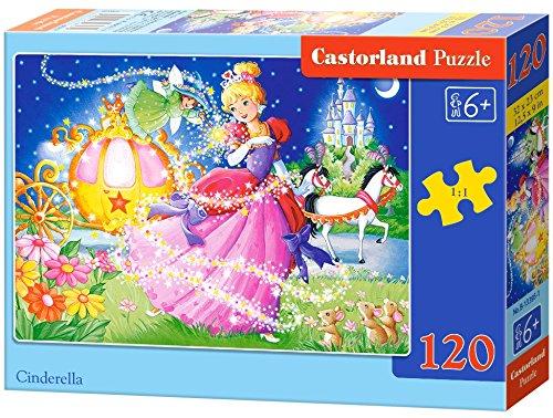 Castorland B-13395-1 Cinderella, 120 Teile Puzzle, bunt