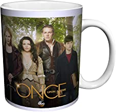 Once Upon a Time Main Cast in Enchanted Forest Fantasy Drama Fairy Tale TV Television Show Ceramic Gift Coffee (Tea, Cocoa) 11 Oz. Mug