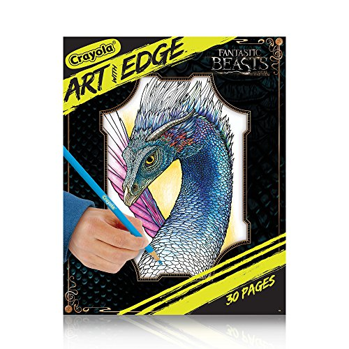 Crayola Art with Edge Fantastic Beasts Colouring Book