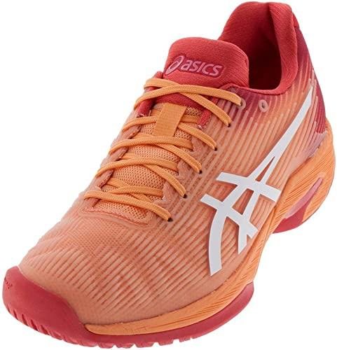 ASICS Wohommes Solution Speed FF Tennis chaussures, Mojave blanc, Taille 5