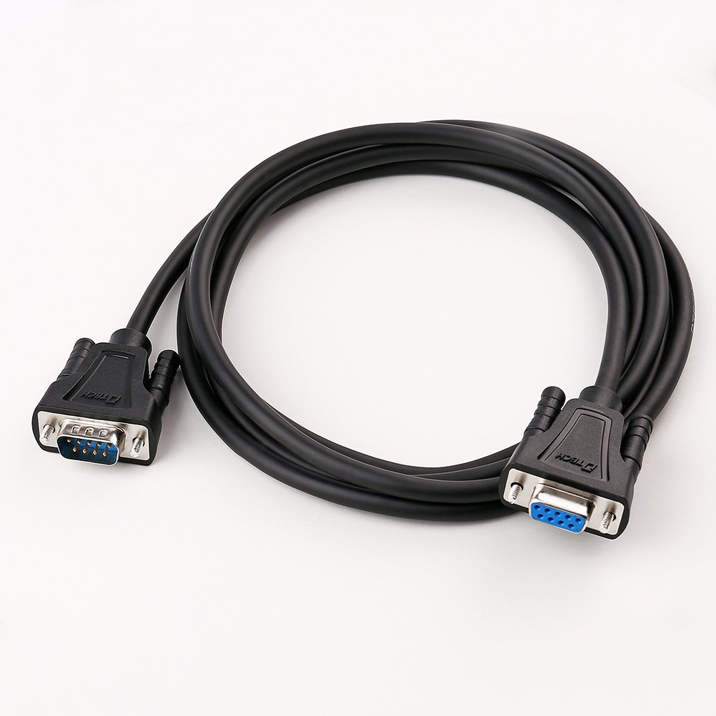 C2G 26887 USB to DB9 Male Serial RS232 Adapter Cable 5 Feet, 1.52 Meters Black