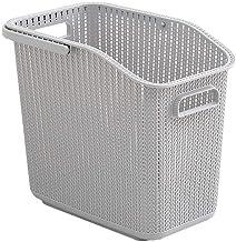 JUAN Multi Layer Detachable Household Plastic Storage Basket (Color : Gray, Size : 42 * 26.5 * 37.5cm)
