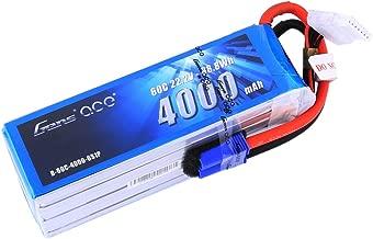 Gens ace 22.2V 4000mAh 6S 60C LiPo Battery Pack with EC5 Plug for Goblin Align Gaui