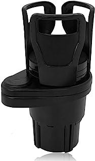 Linkhood 2 in 1 Car Cup Holder, Multifunction Car Drink Holder Adapter, Mount Extender with 360° Rotating Adjustable Base,...