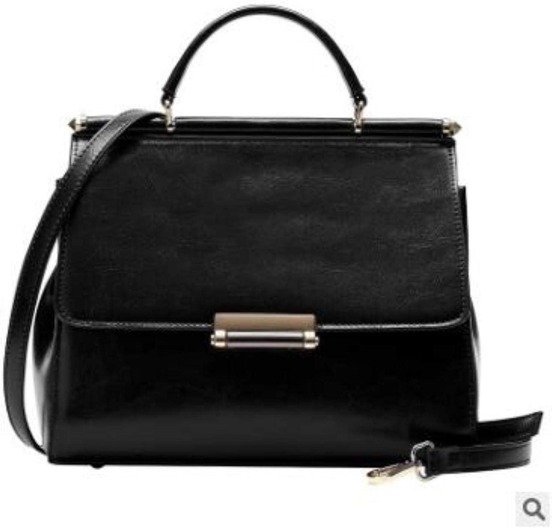 NEW Women Genuine Leather Tote Female Classic handbags
