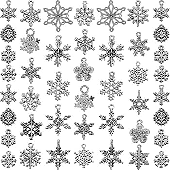 Best snowflake charms for jewelry making Reviews