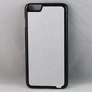 Apple iPhone 6 PLUS / 6s PLUS Rubber / Plastic - Black / White - DIY - Blank Dye Case Plus Inserts For Dye Sublimation Phone Cover / Case Blank Printable Pack of 5