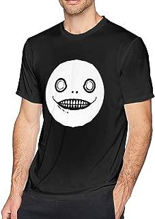 WEIYE Emil - Weapon-Nier Automata Shirt Short Sleeve T Shirts for Men Black