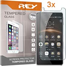 Electrónica Rey 3X Protector de Pantalla para LEAGOO M8 / M8 Pro, Cristal Vidrio Templado Premium