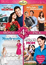 Hallmark Valentine's Day Quad: (All's Fair in Love and Advertising / Be My Valentine / Meddling Mom / Nearlyweds)