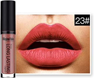 Lipstick, Hatop Waterproof Matte Liquid Lipstick Long Lasting Lip Gloss Lipstick (E)