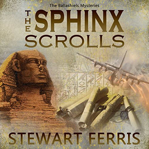 The Sphinx Scrolls audiobook cover art