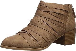 Fergalicious Women's Iggy Ankle Boot, Sand, 5. 5 M US