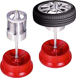 Goplus Portable Bubble Wheel Balancer, Professional Tire Rim Balancing Machine, Heavy Duty Hubs Wheel Tire Balancer for Automotive Cars Truck