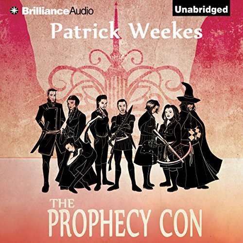 The Prophecy Con audiobook cover art