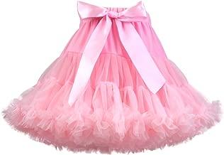 Baby Girl's Fluffy Tutu Skirt Infant Tulle Birthday Party Cake Smash Tiered Princess Pettiskirt