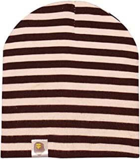 COODIO Under 3-Year-Old Baby Stripe Knitted Cotton Beanie Cap for Spring Autumn for Fashion Jewelry