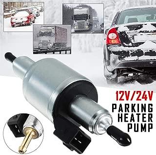 blue--net Universal 12V/24VElectric Fuel Pump, Gas Diesel Inline Electric Fuel Pump Kit Air Parking Heater Fuel Pump