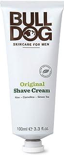 Bulldog Mens Skincare and Grooming Original Shave Cream, 3.3 Ounce