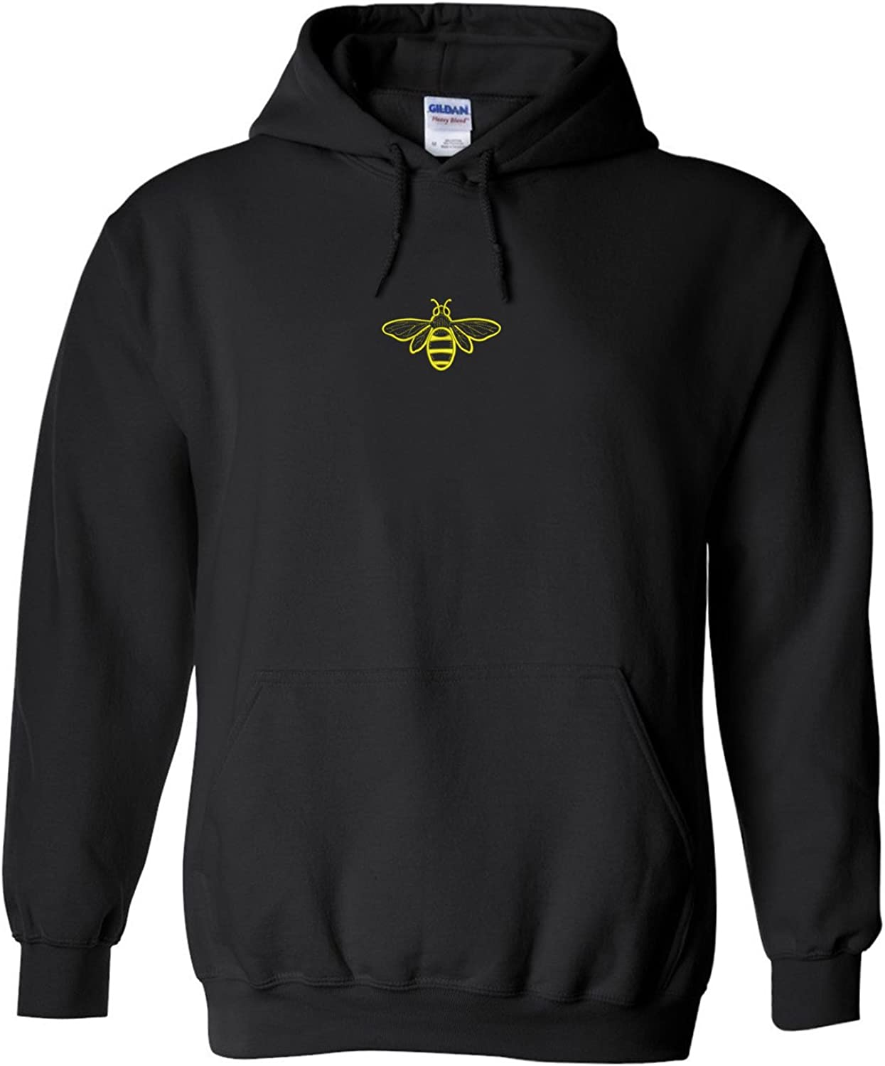 Trendy Apparel Shop Bee Embroidered Heavy Blend Hoodie