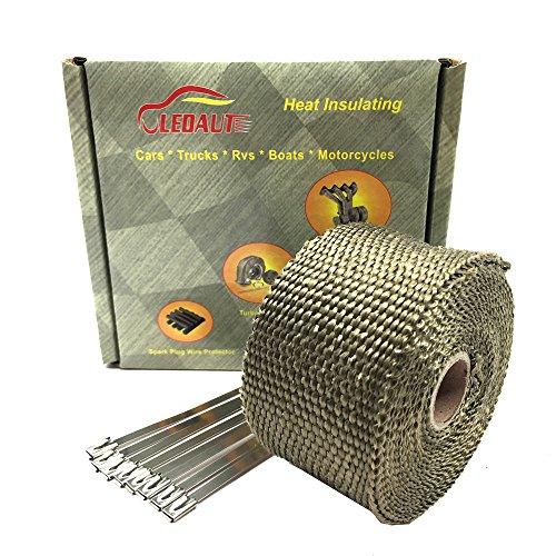 LEDAUT - Rollo de cinta de fibra de vidrio para tubo de esca
