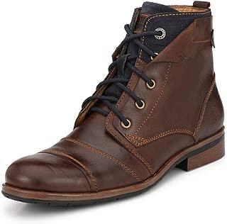 Alberto Torresi Men Brown Silas Boot