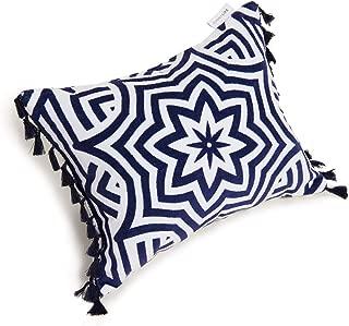 SunnyLife Women's Azule Beach Pillow, Azule, Blue, Print, One Size