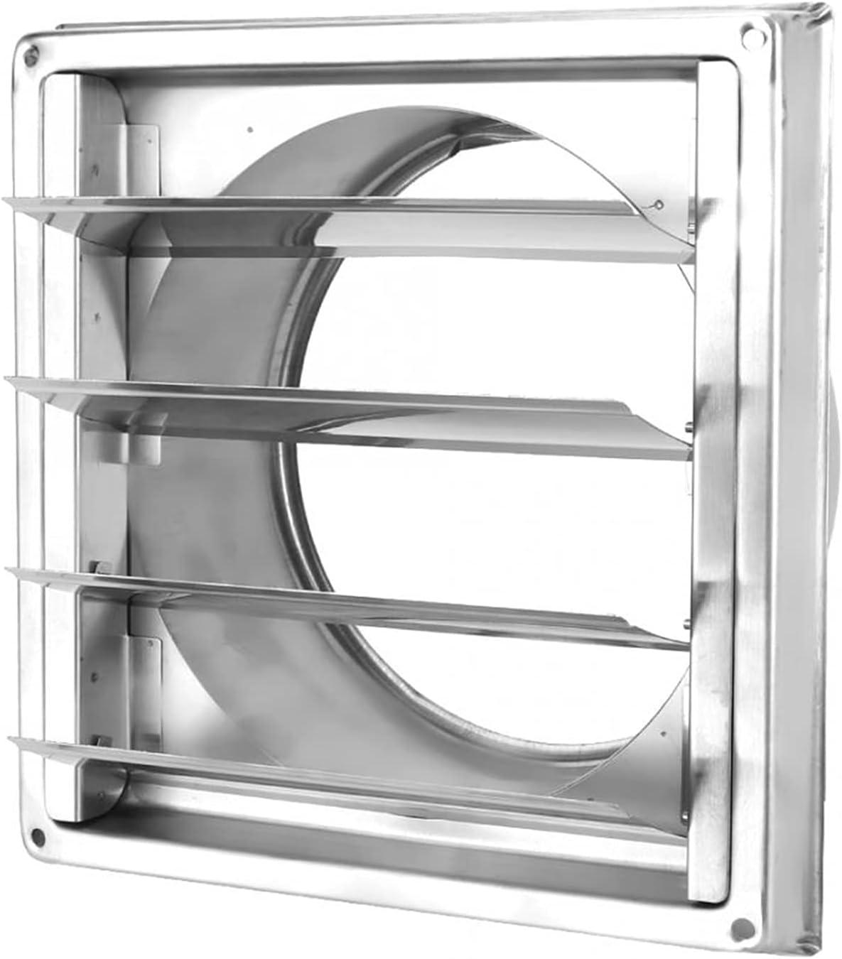 FENGFENG Sun Can 150 mm Acero Inoxidable ventilación de Aire Parrilla a Prueba de Viento Impermeable Impermeable Salida de Aire Extractor de Salida de Aire ventilación ventilación